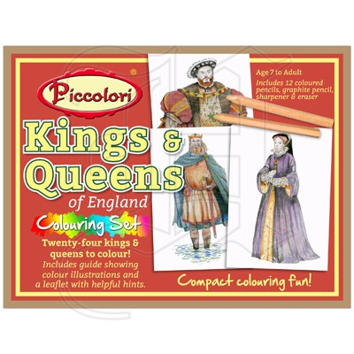 Piccolori - Kings & Queens of England