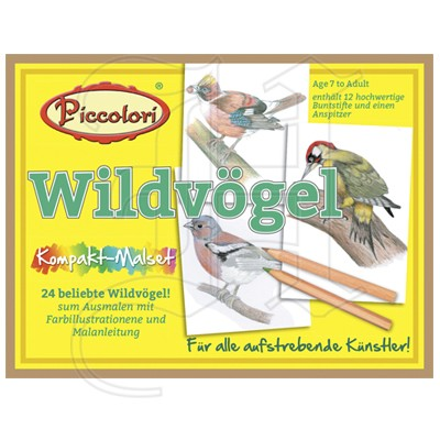 Piccolori - Wildvögel