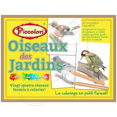 Piccolori - Oiseaux des Jardins
