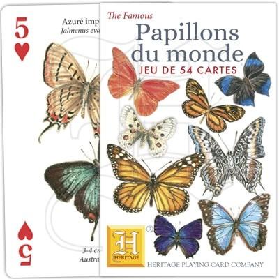 Heritage Playing Card Company Jeu 54 Cartes Animaux de la Nature